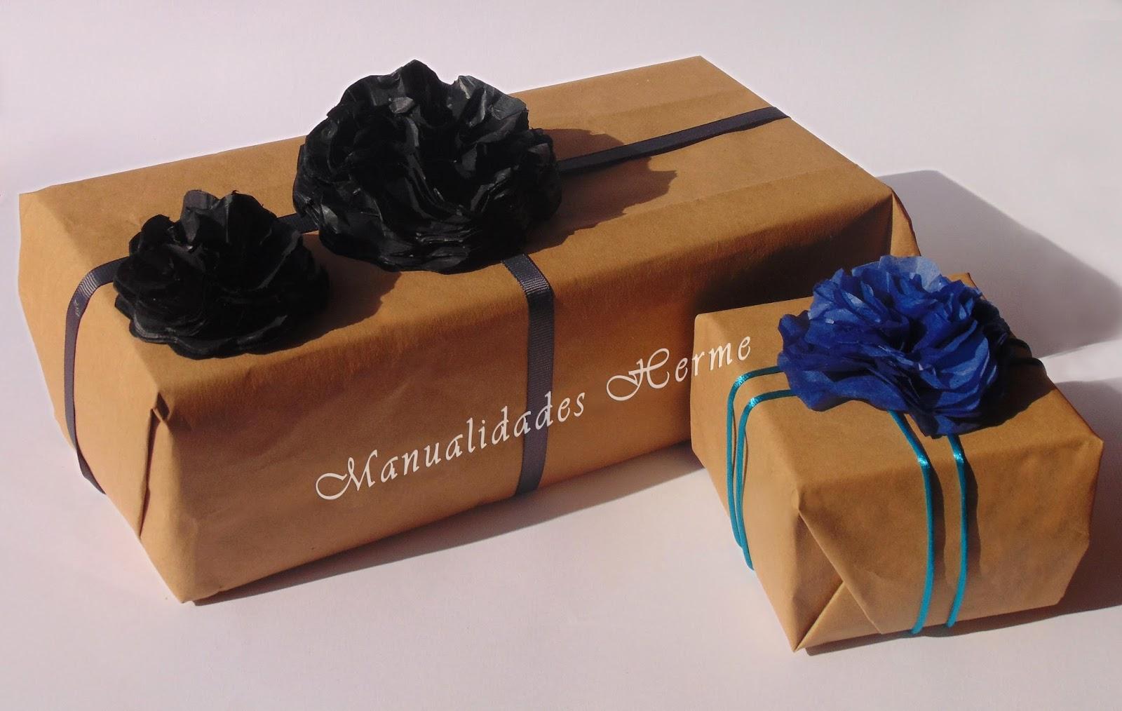 Manualidades herme como hacer una flor para caja de regalo for Decorar regalos