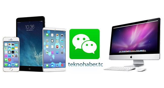 wee chat masa üstü ve mobil uygulaması