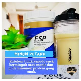 Bila Waktu Yang Sesuai Untuk Energizing Soy Protein ( ESP ) ?