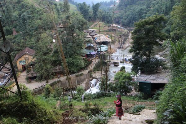 ทัวร์เวียดนามเหนือ น้ำตก หมู่บ้านกั๊ตกั๊ต