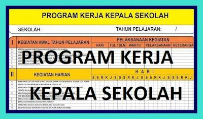 Contoh Program Kerja Kepala Sekolah SMK Lengkap
