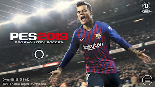 PES 2019 Mobile Official Android New Graphics Engine