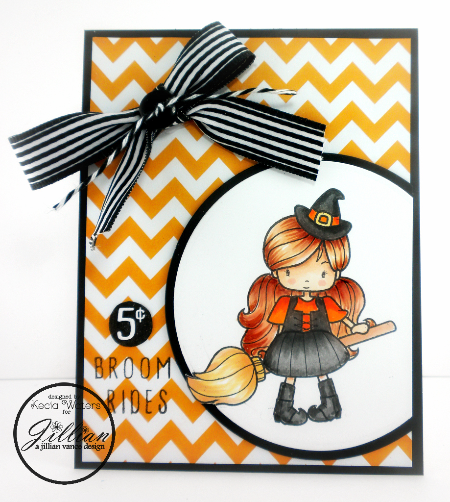 AJVD, Whimsie Doodles, Kecia Waters, Copic markers, Halloween