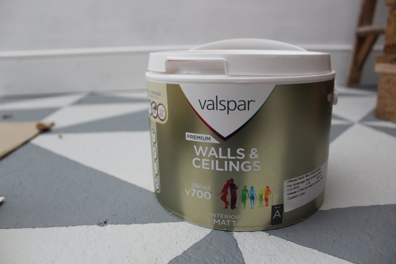 Valspar Colour Matching with Farrow and Ball