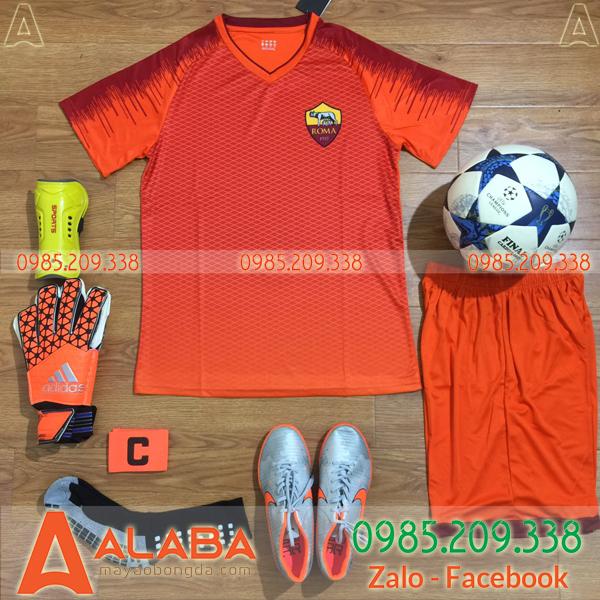 Áo CLB AS Roma 2019 Màu Cam