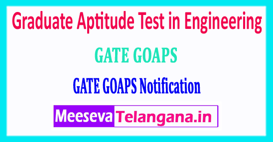 GATE 2018 Graduate Aptitude Test in Engineering Notification Login Registration Exam Dates Syllabus Pattern