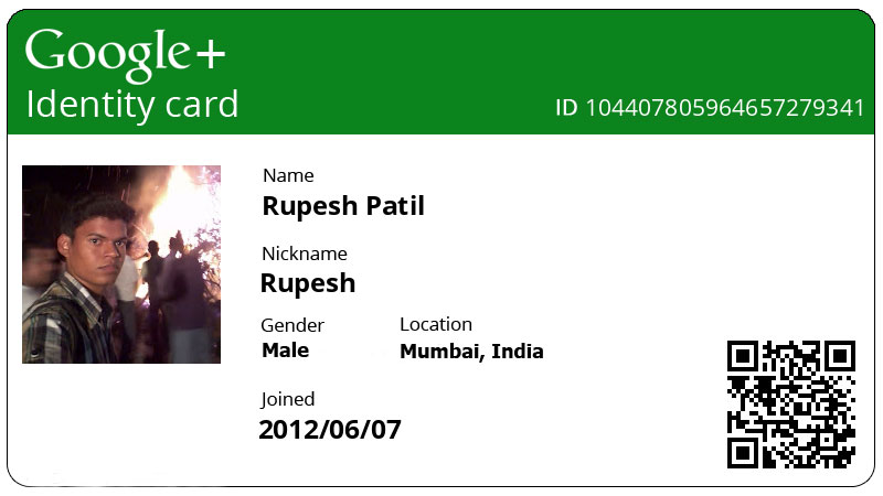 How to Create Cool Google+ ID Cards - Digital Innovation