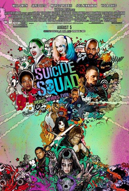 SUICIDE SQUAD (2016) movie review by Glen Tripollo
