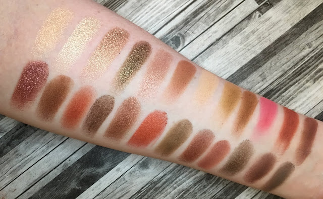 Morphe 24G Grand Glam Palette (Review and Swatches)
