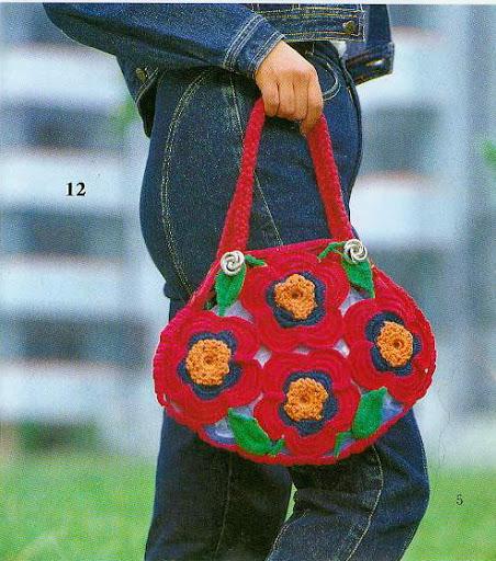 Bolsa Flores entre Flores Patron