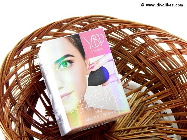 YBP Makeup Perfector Sponge Lust Black Review