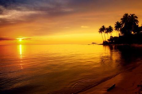 Tempat wisata pantai amai papua
