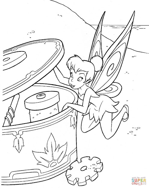 Tinker Bell Is Looking Inside Of Musical Box  Bees And Fairy Iridessa From Disney  Fairies