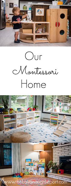 A look at spaces in our Montessori home and the answers to some frequently asked questions.