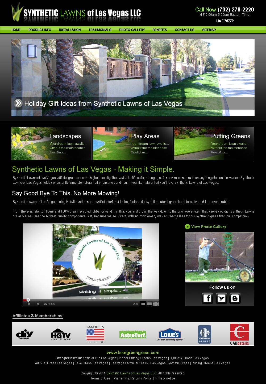 Synthetic Lawns Las Vegas