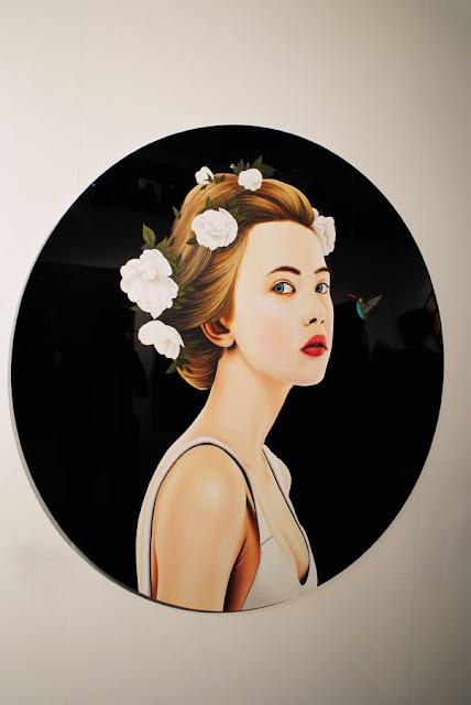 'Serie Nectar', Xevi Villaro, olieverf op kunststof, Galleria Contrast