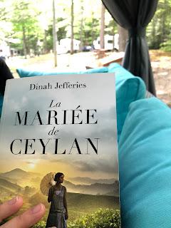 """Image du livre """"la mariée de Ceylan"""" de Dinah Jefferies"""
