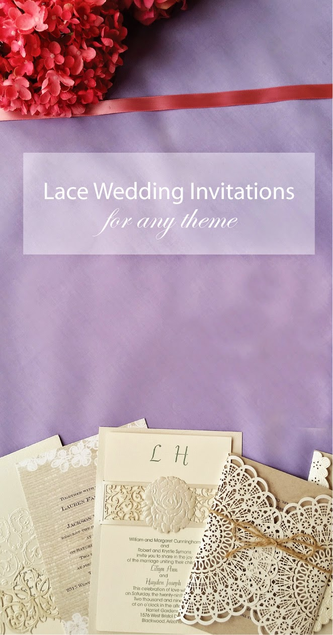 Lace wedding invitations a fit for every theme belle the magazine through your invites of course they are what set the tone for the grand day so why not go big and go lace with invitations by dawn sciox Gallery
