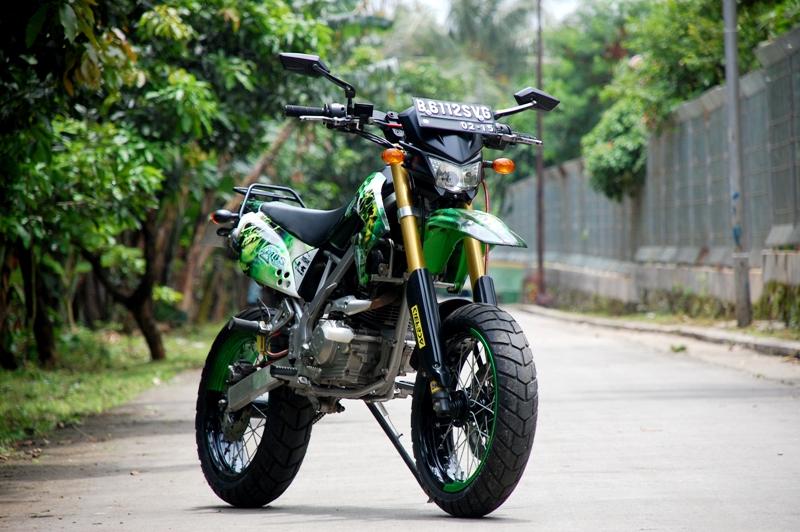 Kawasaki KLX Motard - SuperXmoto