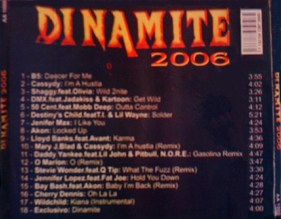 cd dinamite 2006