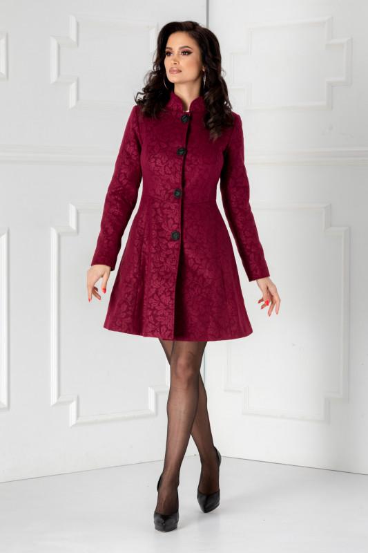 palton dama violet