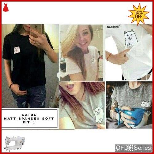 OFDF322 Atasan Kaos Catbe Tshirt Tumbler Tee BMGShop