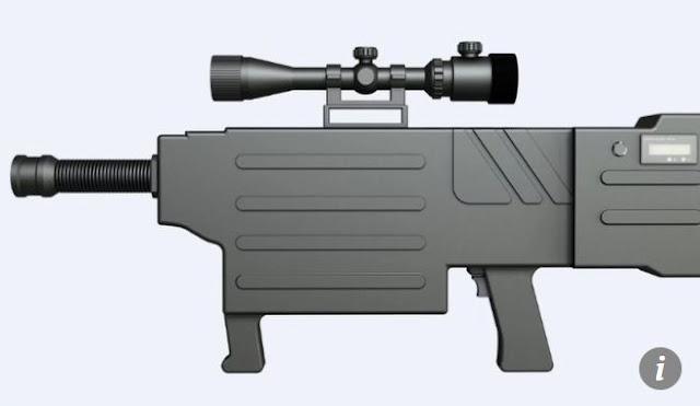 """В Китае создали """"лазерный АК-47"""""""