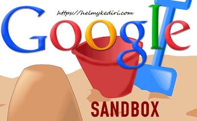 Cara mengeluarkan blog baru dari google sandbox