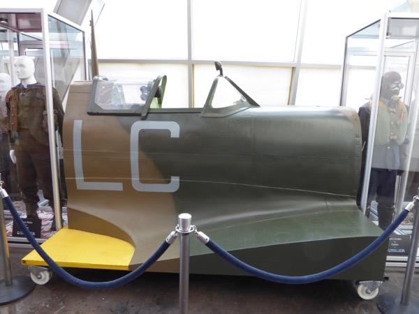Dunkirk aircraft cockpit fuselage