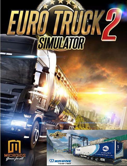 تحميل لعبه Euro Truck Simulator 2 Krone Trailer Pack 2018  للكمبيوتر