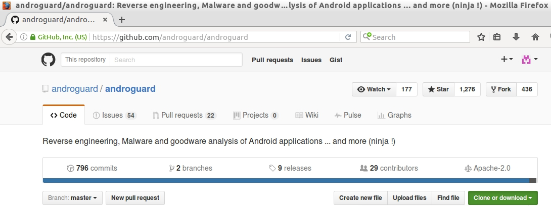 Whitelist: ANDROID PT / Analysis with Androguard