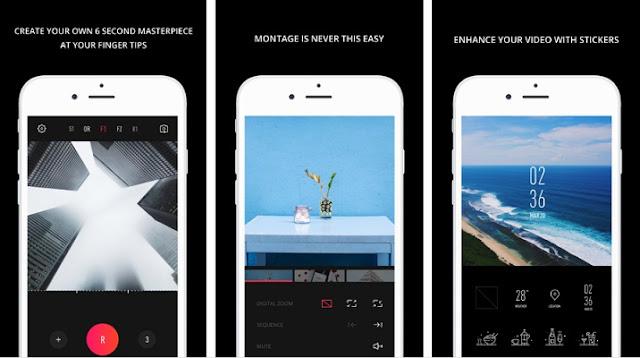 تحميل تطبيق VUE للأيفون لتصوير الفيديو وإضافة تأثيرات عليه