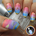 Bertie McBurtlebutton & Ms Blueberry-Baebae Go Water Skiing. Freehand Nail Art
