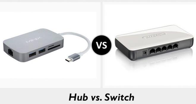 Perbedaan Hub dan Switch