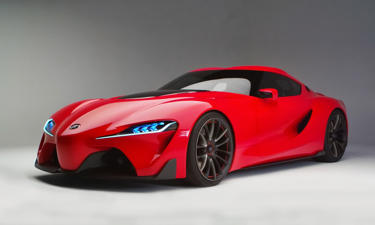 Formerly The Honda Portal: Toyota FT-1 Concept Heralds A