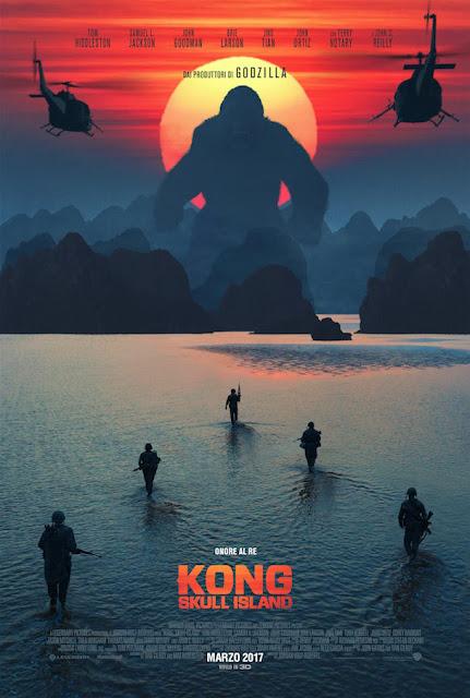 Kong Skull Island recensione poster