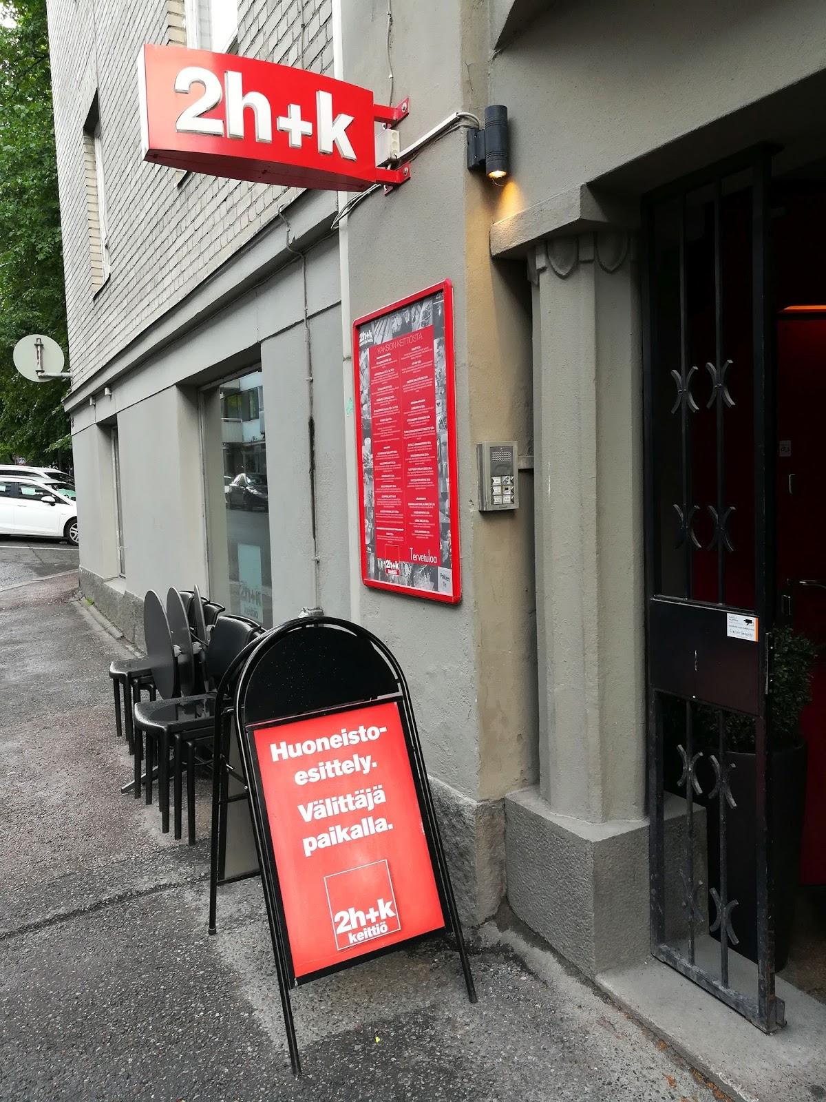2h+k kaksio tampere ravintola arvostelu mallaspulla maistelee ruokablogi