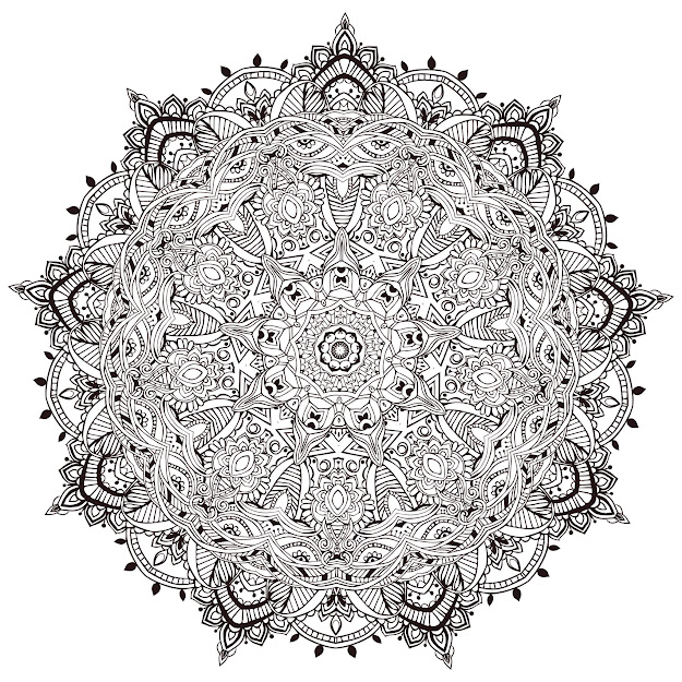 Mandala Coloring Pages Plicated With Mandala Difficult For Adults
