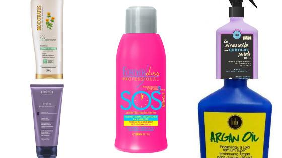 produtos low poo cabelo com progressiva