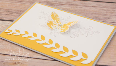 A Stylish Butterfly Card for Any Occasion Made Using Supplies From Stampin' Up! UK which you can buy here