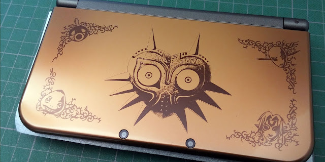 Deuxième photo de la New 3DS XL Zelda Majora's Mask 3D édition collector