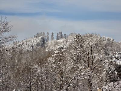 Wycieczka na Bryjarkę zimą