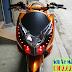 Sơn xe Honda PCX màu cam