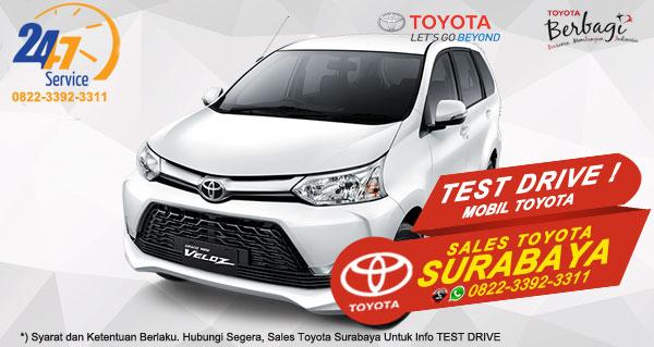 Info Test Drive Toyota Avanza Veloz Surabaya