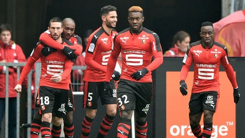 Rennes thi đấu rất tệ trong các trận đấu trên sân đối phương.