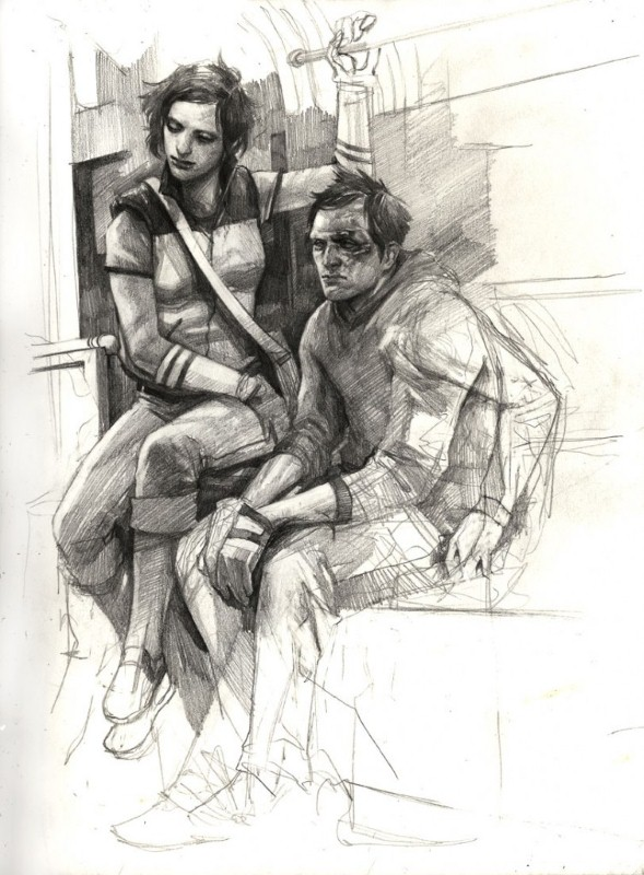 Рисунки Wesley Burt 13