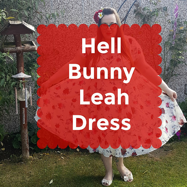review of the Hell Bunny Leah Plus size dress