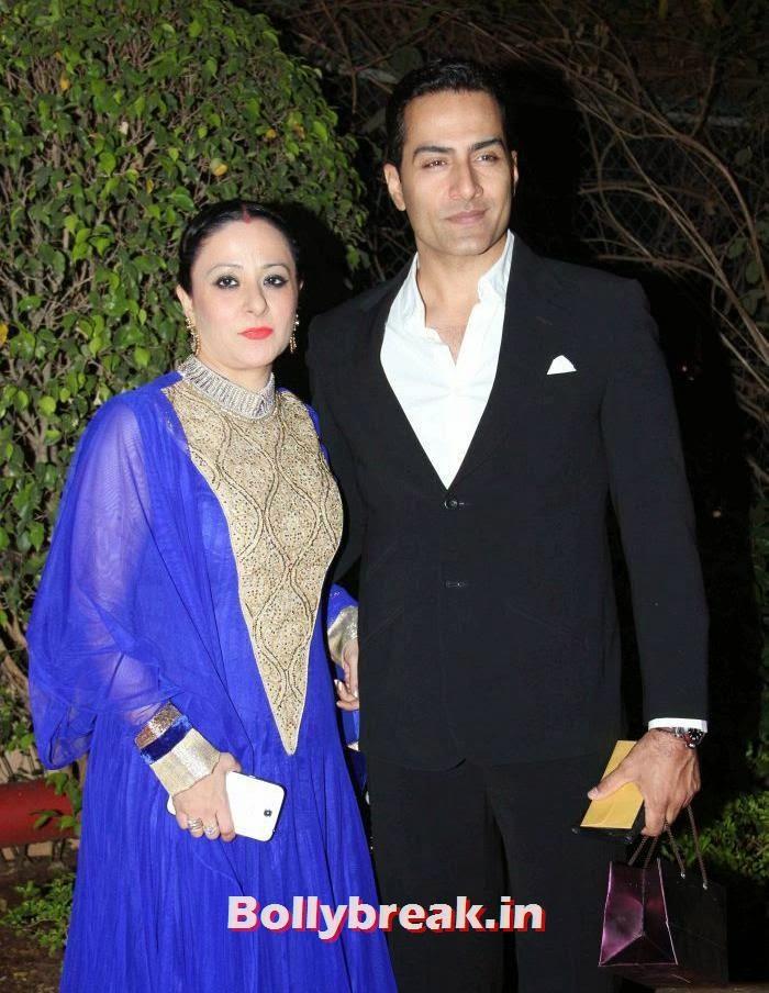 Mona Pandey, Sudhanshu Pandey, Ahana Deol Wedding & Reception Pics