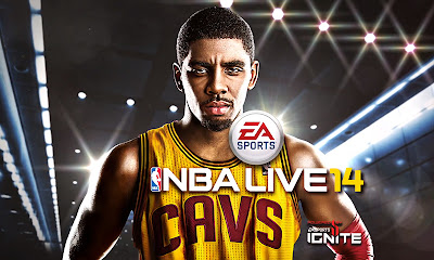 Kyrie Irving will be on the cover of NBA Live 14