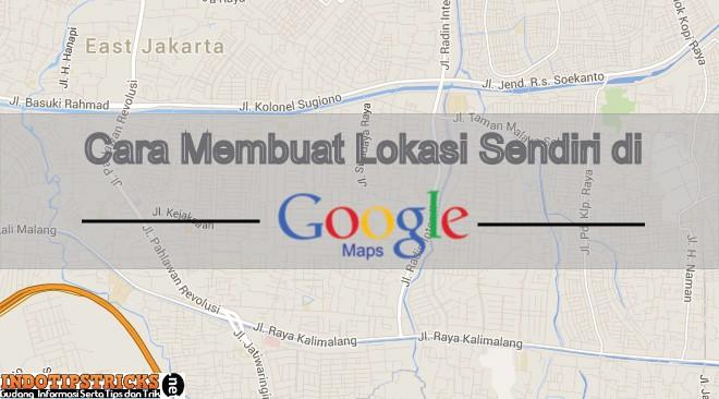 Cara menentukan lokasi bisnis di Google Maps